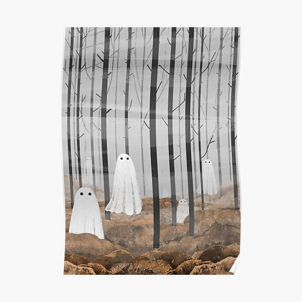 The Woods are full of ghosts Poster