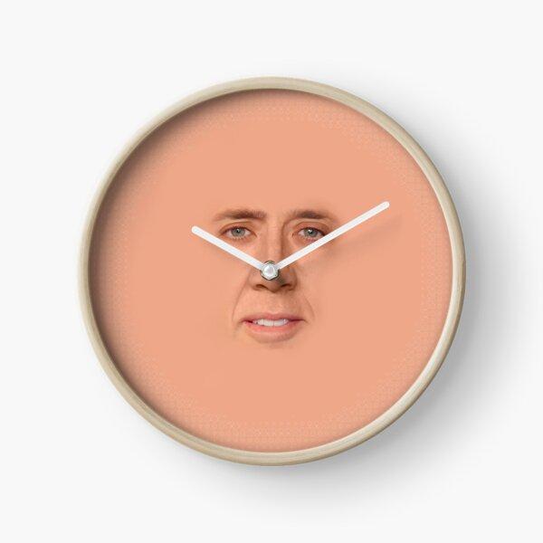 nicolas cage - Face Clock