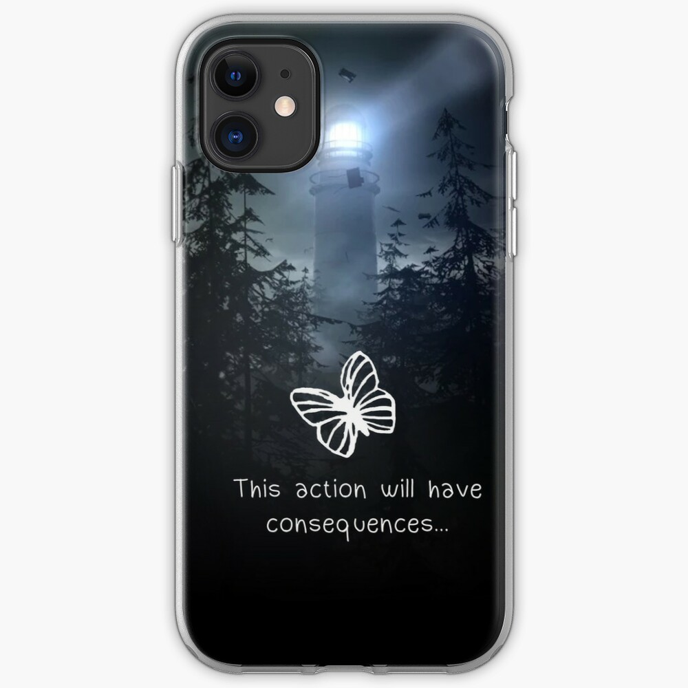 Life is strange - This action will have consequences iPhone Case & Cover