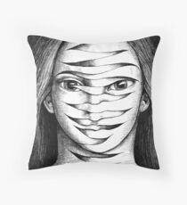 Integrated Self Throw Pillow