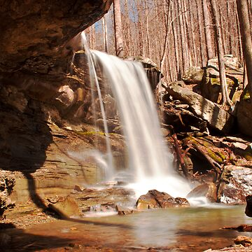 Emory Gap Falls, Frozen Head State Park, Tennessee by SamWarner