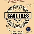 Case Files Note Book Or Journal by leeseylee