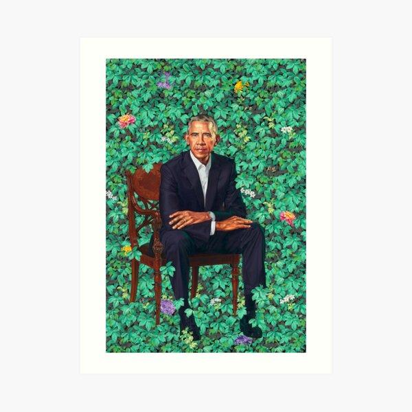 Obama Portrait Poster Art Print