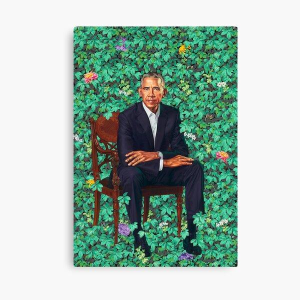 Obama Portrait Poster Canvas Print