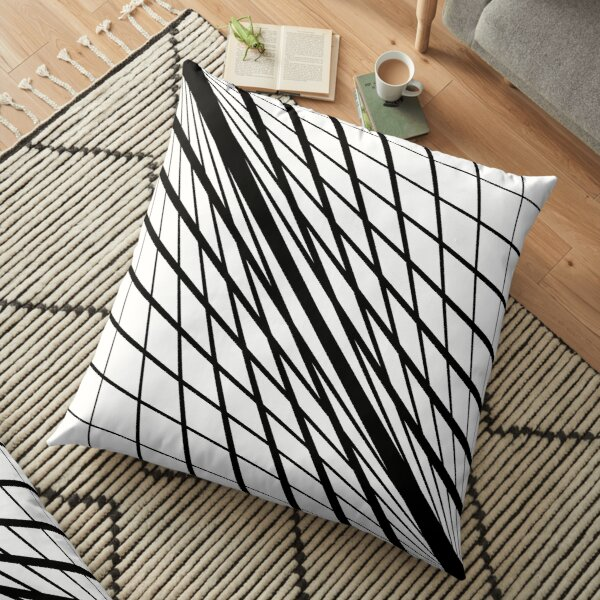 #Pattern is a #regularity in the #world, in human-made #design, or in abstract ideas Floor Pillow