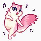 ★ Kawaii Happy Kitty by cadcamcaefea