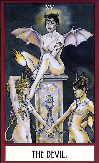 The Devil - Card by WinonaCookie