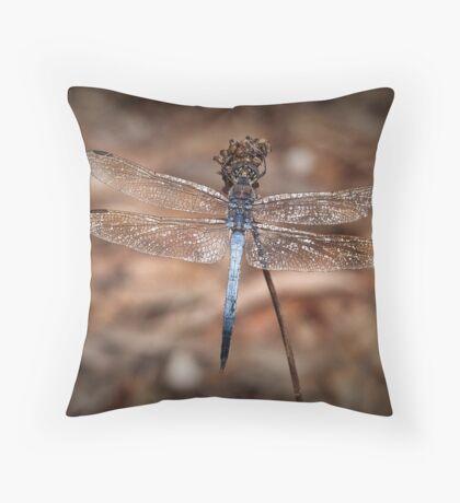 Jewelled Dragon Throw Pillow