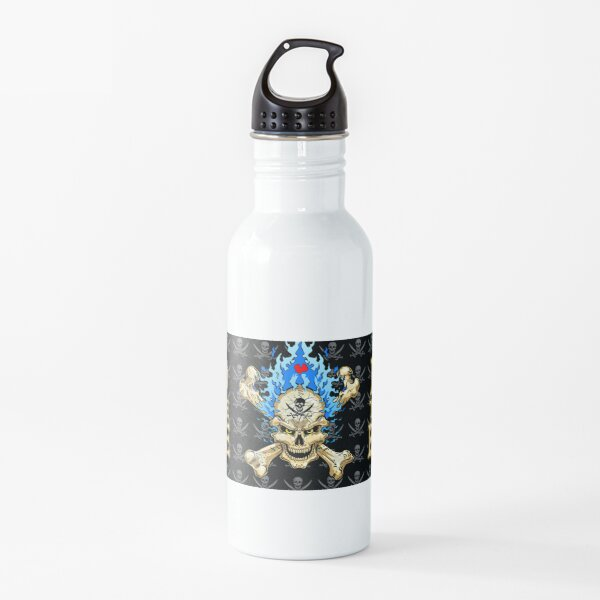 Bad to the Bone Water Bottle