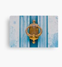 Bleu d'Or © SolSo Photografée Impression sur toile