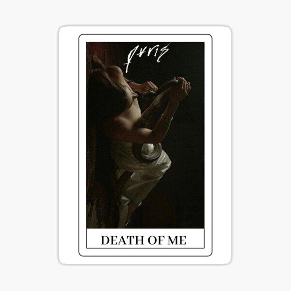 PVRIS tarot card death of me Sticker
