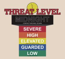 Threat Level Midnight by huckblade