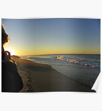 Watching the Sunset Poster