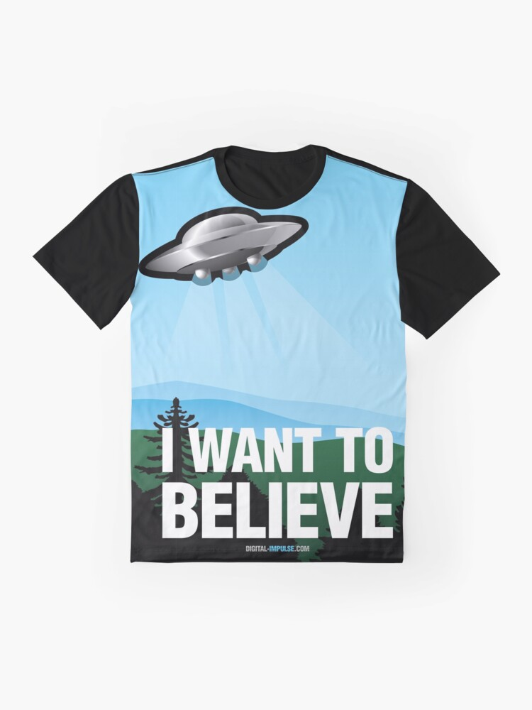 Alternate view of I Want to Believe Graphic T-Shirt