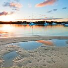 Sunset on the Broadwater - Gold Coast Qld by Beth  Wode