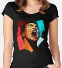 Cassius Women's Fitted Scoop T-Shirt