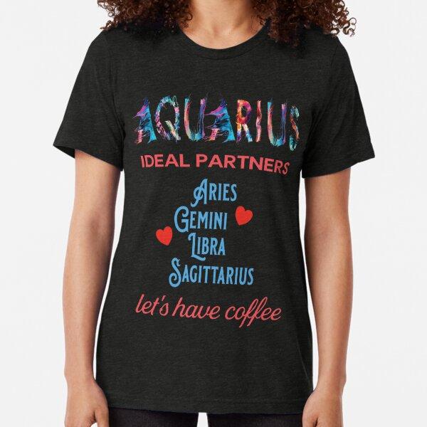 Aquarius Ideal Partners Tri-blend T-Shirt