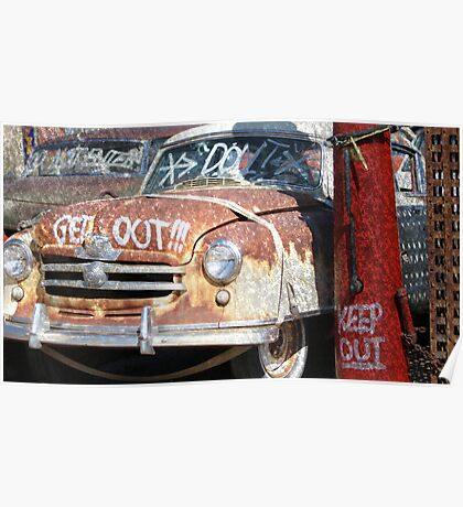 Old Car Standout Poster