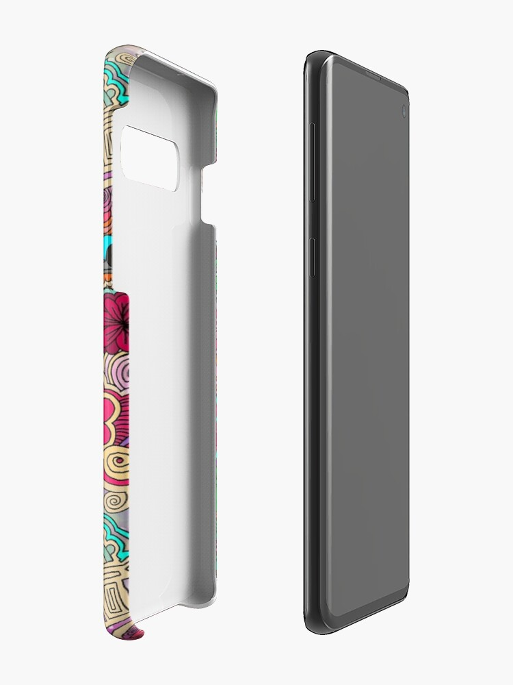 Alternate view of Project 860 Kitschy Colorful Art Case & Skin for Samsung Galaxy