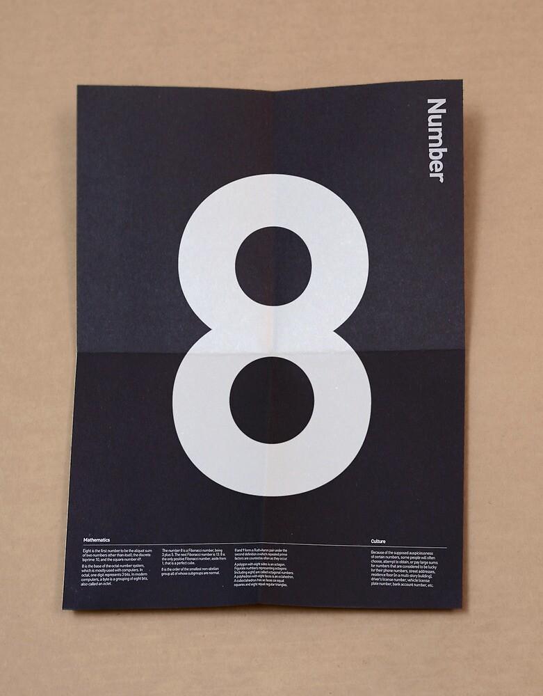 Number 8 by Steve Leadbeater