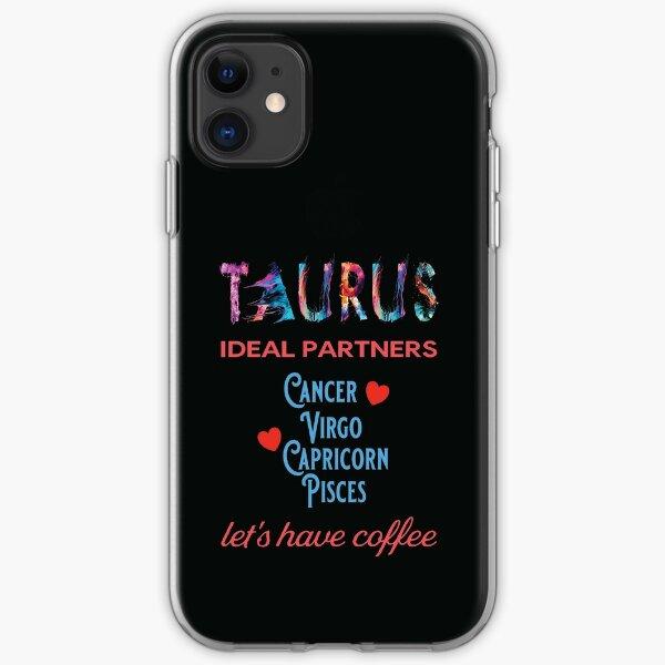 Taurus Ideal Partners iPhone Soft Case