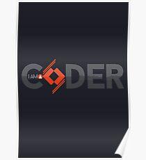 I am a coder Poster