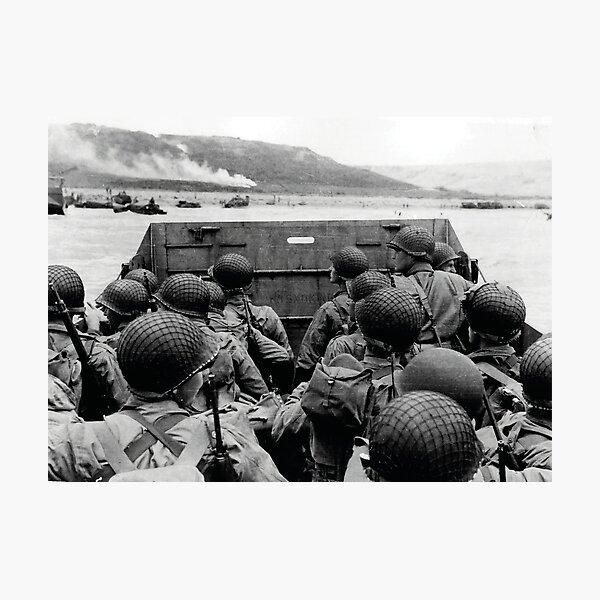 D-Day - Omaha Photographic Print