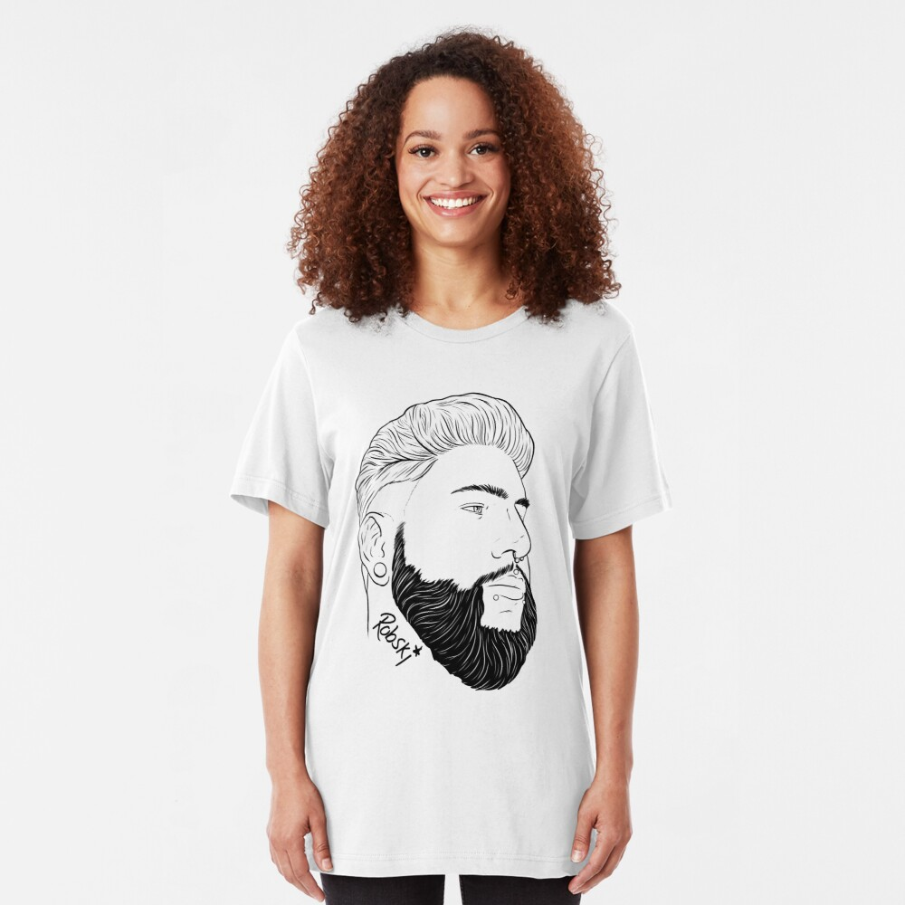 ColorKeys - Black Lines Slim Fit T-Shirt