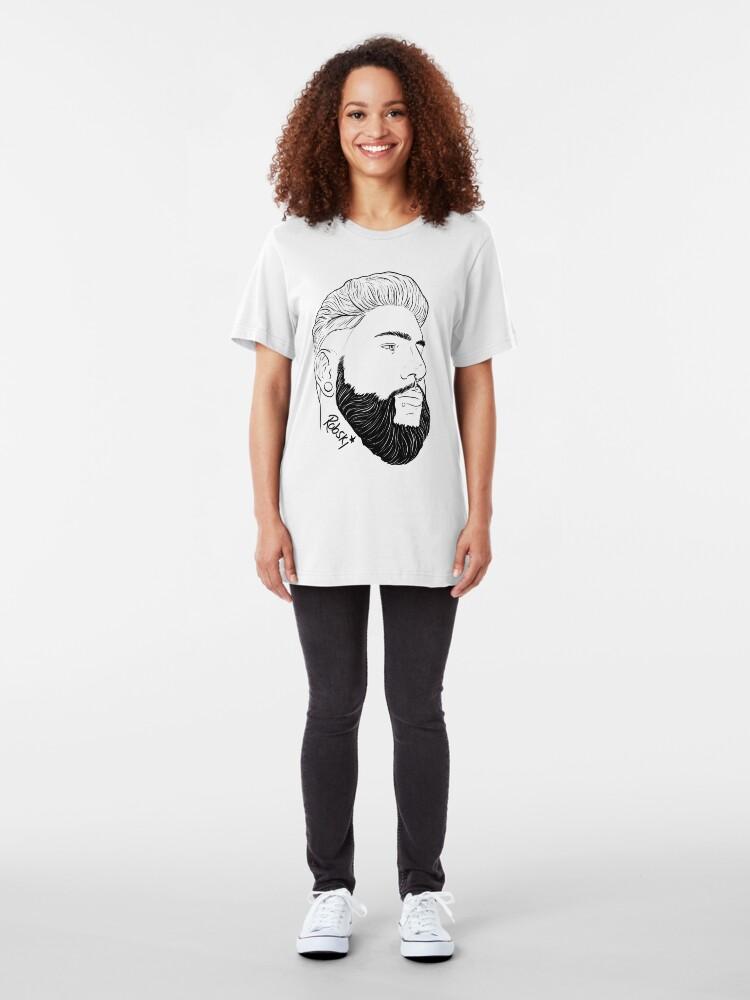 Alternate view of ColorKeys - Black Lines Slim Fit T-Shirt