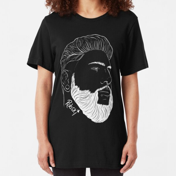 ColorKeys - white lines Slim Fit T-Shirt