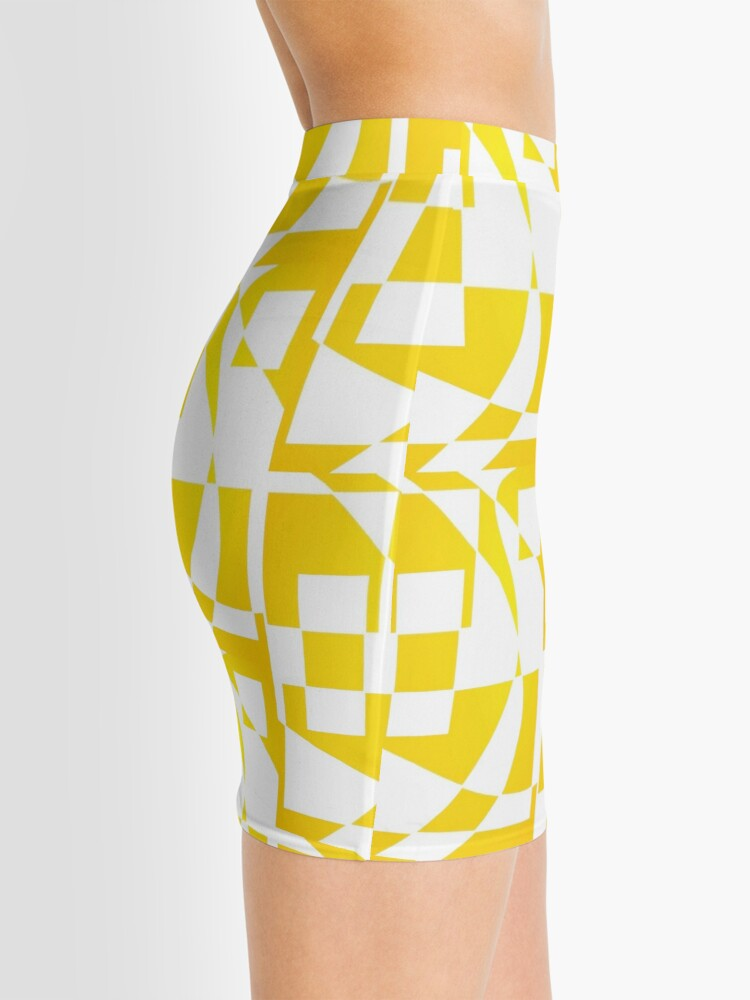 Alternate view of Window & Light, Abstract (Designed by Just Stories) Mini Skirt