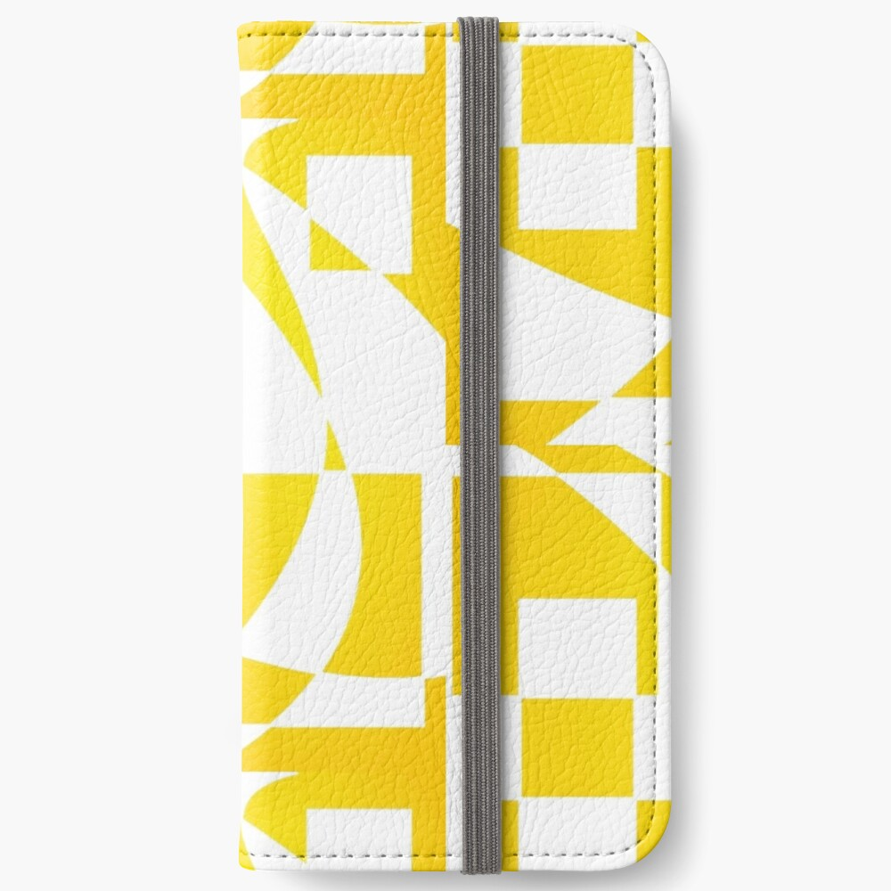 Window & Light, Abstract (Designed by Just Stories) iPhone Wallet