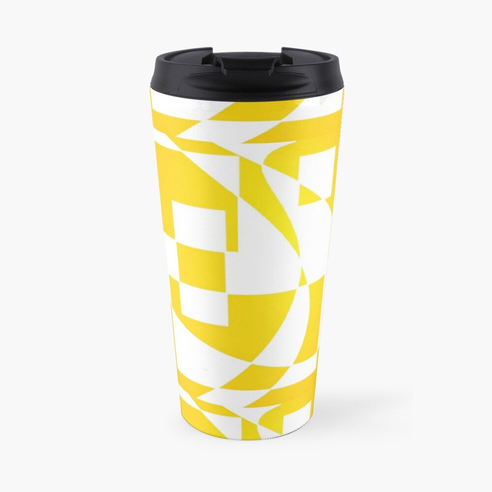 Window & Light, Abstract (Designed by Just Stories) Travel Mug