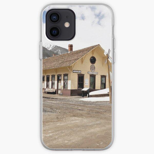 Silverton Railroad Depot 1 iPhone Soft Case