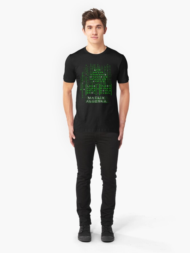 Alternate view of Matrix Algebra Slim Fit T-Shirt