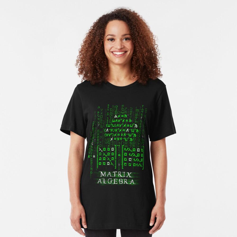 Matrix Algebra Slim Fit T-Shirt