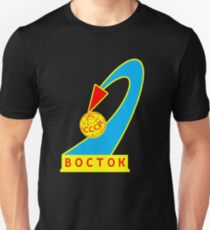Vostok 1 Space Mission Patch T-Shirt