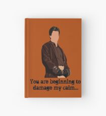 Don't Mess with the Captain Hardcover Journal