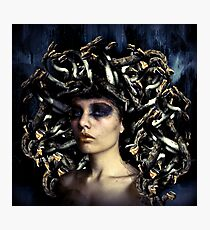Medusa Once Was Beautiful... Photographic Print