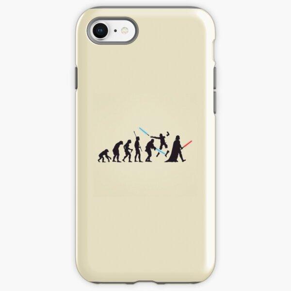 Human Evolution Star Wars iPhone Tough Case