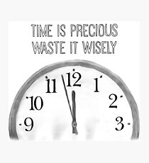 Precious Time Photographic Print