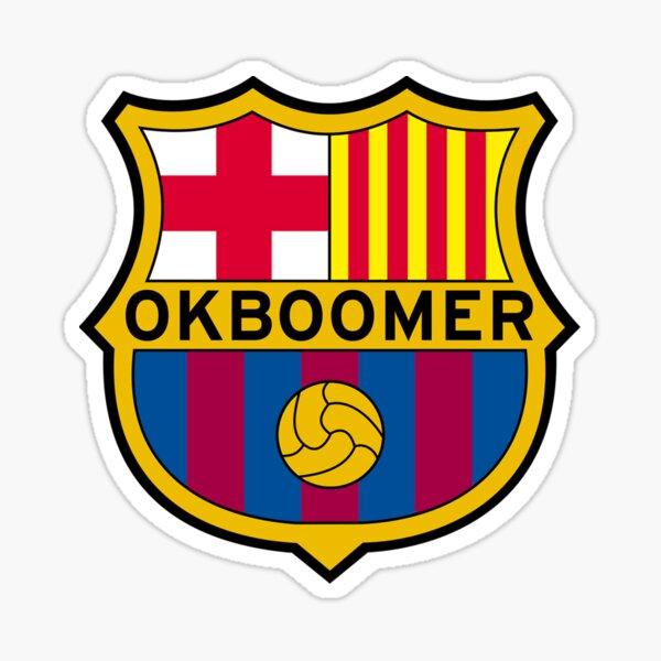 ok boomer FCB Sticker