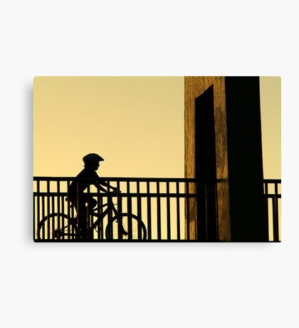 Out Riding Canvas Print