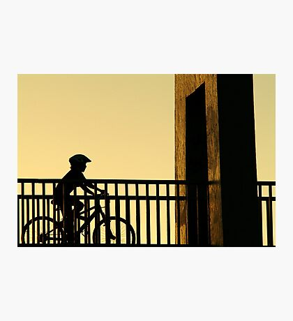 Out Riding Photographic Print