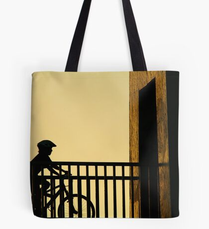 Out Riding Tote Bag