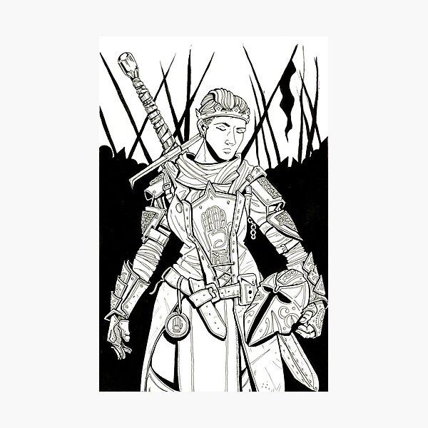 The Warrior Princess Photographic Print
