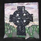 Iona Cross Mosaic by ClodaghSHiggins