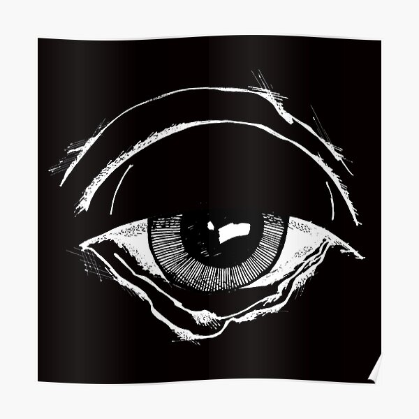 Gloomy eye of a reptile (or that of a common old man ...) - faith and truth Poster