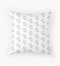 Computer Mouse Click Throw Pillow