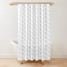 Computer Mouse Click Shower Curtain